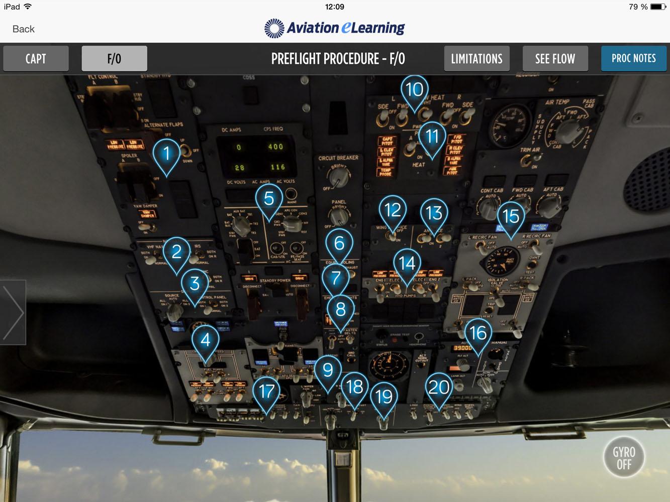 Boeing B737NG Normal Procedures