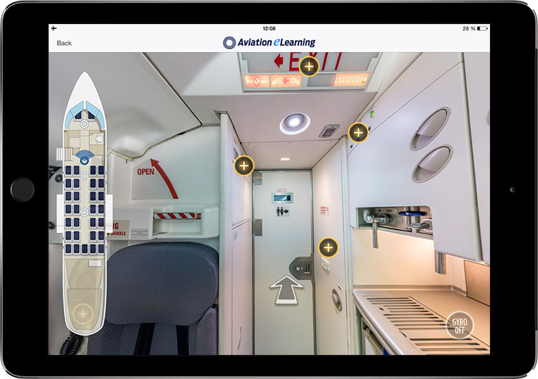 Safety Equipment Procedure Trainers - Cabin Guidance