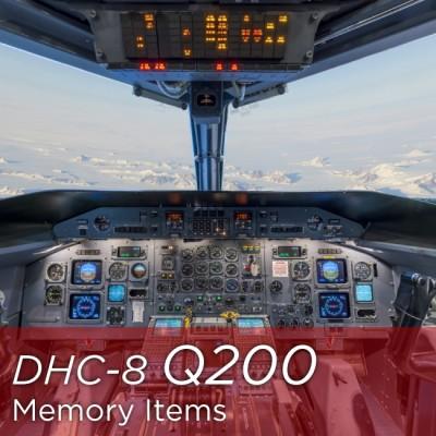 Dash 8 Q200 Memory Items