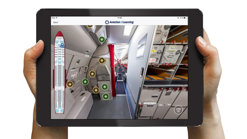 Air Greenland reduced aircraft use during Cabin Initial training by 60%!