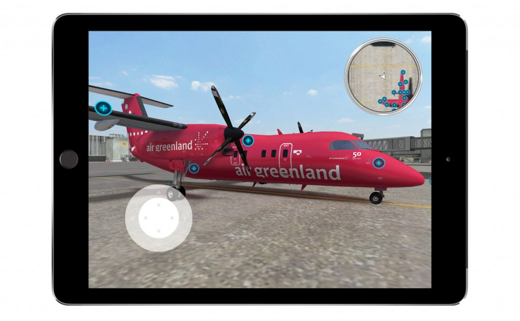 External Inspection training app for Air Greenland