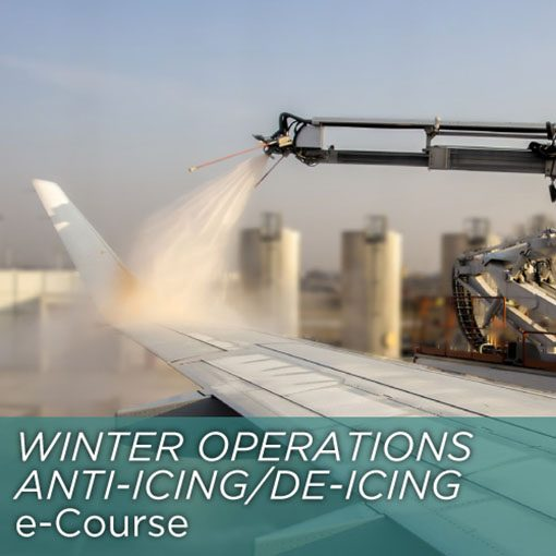 Winter Operations - Anti-icing/De-icing