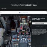 Boeing 737NG Quick Actions iPad 4